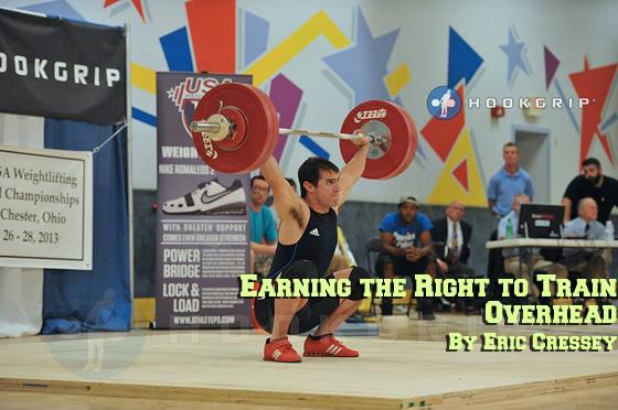 Training Overhead Eric Cressey